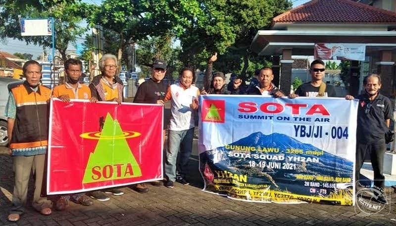 Sekretaris ORARI Daerah Jawa Tengah Aldy Zulwan - YB2GV