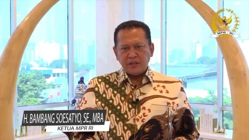 Ketua MPR RI H. Bambang Soesatyo, SE, MBA - YE0BS