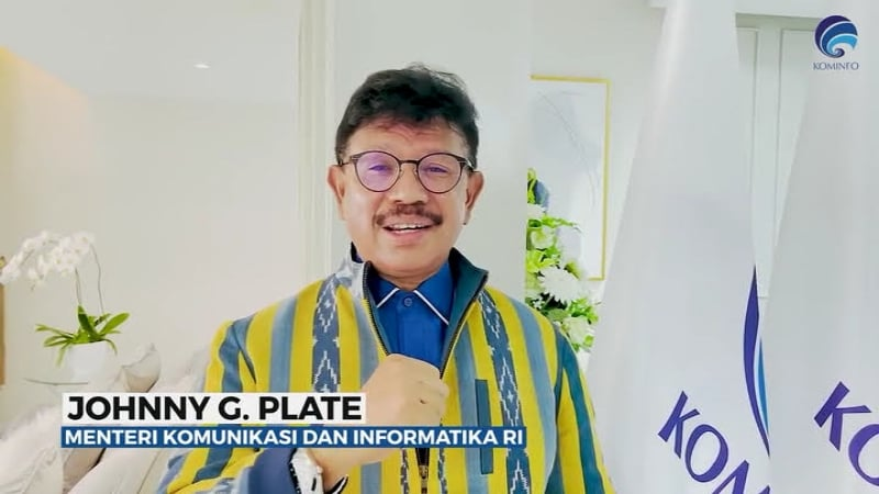 Johnny G. Plate Mentri Komunikasi dan Informatika RI