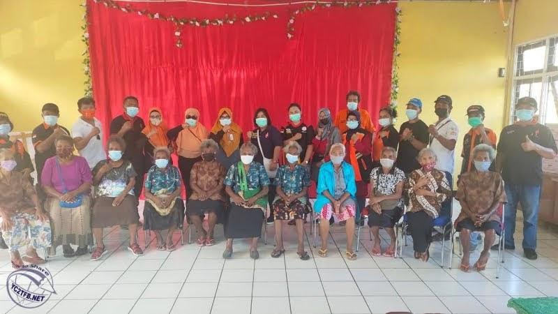 Kunjungan Sosial ke Panti Jompo Sentani Jayapura