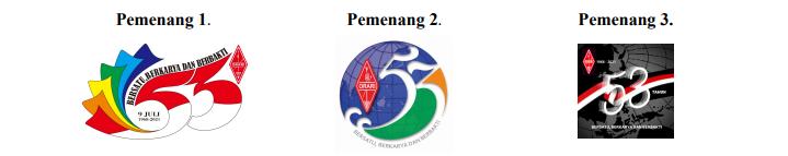 Pemenang Lomba Logo HUT ORARI Ke-53
